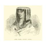 Coya Mama Chimpu Ocllu Giclee Print by Édouard Riou