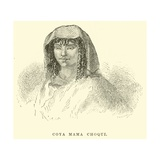 Coya Mama Choqui Giclee Print by Édouard Riou