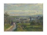 View of Saint-Ouen-L'Aumône, 1876 Reproduction procédé giclée par Camille Pissarro