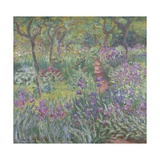 The Artist'S Garden in Giverny, 1900 Giclée-Druck von Claude Monet