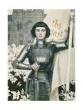 Johanna von Orleans Giclée-Druck
