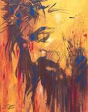 Jésus Affiche par Stephen Fishwick