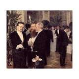 At the Ball, 1900 Giclee Print by Peter Alexandrovich Nilus