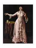 Woman Smoking, 1895 Gicléedruk van John George Brown