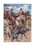 Pelopidas Setting Out for Thebes Giclee Print by William Rainey