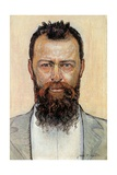Self Portrait Giclee Print by Ferdinand Hodler