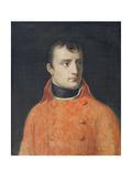 Napoléon Bonaparte, First Consul Giclée-tryk af Anne-Louis Girodet de Roussy-Trioson