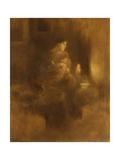Maternité Reproduction procédé giclée par Eugene Carriere