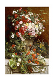 Homage to the Queen of Flowers, 1884 Giclée-Druck von Charles Verlat