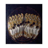 Angels Giclee Print by Guariento Di Arpo