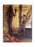 The Mirror; Le Miroir Giclee Print by Georges Marie Rochegrosse