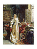 Flirtation Giclee Print by Joseph Frederic Soulacroix