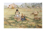 Country Scene, 1891 Giclee Print by Niccolo Cannicci