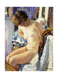 Seated Nude; Nu Assise Giclee Print by Henri Lebasque
