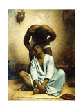 The Barber of Suez Giclée-vedos tekijänä Leon Joseph Florentin Bonnat