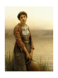 The Water Carrier Giclee Print by Daniel Ridgway Knight