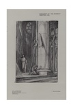 Scene in Rheims Cathedral from Saint Joan Giclee Print by Charles Ricketts