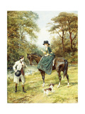 The Rendez-Vous Giclee Print by Heywood Hardy