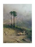In the Crimean Mountains, 1873 Giclée-Druck von Fedor Aleksandrovich Vasiliev