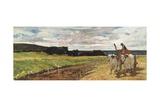 Rural Landscape, 1867 Giclée-tryk af Giovanni Fattori
