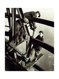 Top of the Mooring Mast, Empire State Building Giclee Print by Lewis Wickes Hine