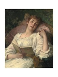 Daydreaming Giclee Print by Conrad Kiesel