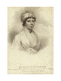Portrait of Queen Charlotte Giclee Print by Sir William Beechey