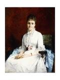 Portrait of a Lady, 1877 Giclee-trykk av Henriette Browne