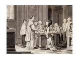 The Seven Sacraments: Marriage, 1779 Giclee Print by Pietro Antonio Novelli
