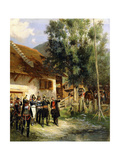 The Orientation, 1895 Giclee Print by Jean-Baptiste Edouard Detaille