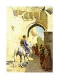 An Arab Scene, 1884-89 Gicléedruk van Edwin Lord Weeks