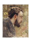 Portrait of Seurat Giclee Print by Henri Edmond Cross