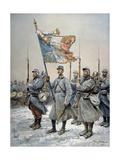 Heroes of the Marne, 1915 Giclée-Druck von Georges Bertin Scott