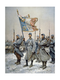Heroes of the Marne, 1915 Giclee Print by Georges Bertin Scott