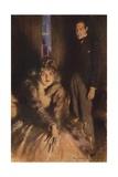 Scene from the Forsyte Saga Giclee Print by Arthur C. Michael