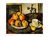 Still Life with Apples and a Cup, 1890-94 Lámina giclée por Paul Cézanne