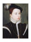 Portrait of Francois Giclee Print by Francois Clouet