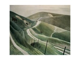 Chalk Paths, 1935 Giclee Print by Eric William Ravilious