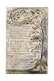 Night, 1789 Lámina giclée por William Blake