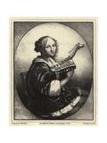 Portrait of a Musician Giclee Print by Caspar Netscher
