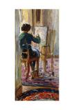Daughter of the Artist; La Fille De L'Artiste Giclee Print by Henri Lebasque