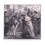 Edward Receiving King John of France Ad 1357 Giclee Print by Charles Ricketts