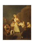 The Washerwomen Giclee Print by Pietro Longhi