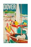 Dover, Poster Advertising British Railways, 1963 Lámina giclée