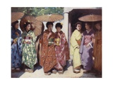 Daughters of the Sun Giclee Print by Mortimer Ludington Menpes