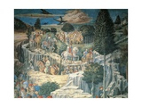 Procession of the Magi Giclée-tryk af Benozzo Gozzoli
