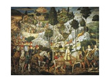 Journey of Magi Giclee Print by Benozzo Gozzoli