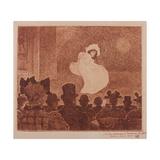 Le Café Concert', 1896 Gicléetryck av Theo van Rysselberghe