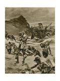 The Wreck That Gave Britain the Bermudas Reproduction procédé giclée par Richard Caton Woodville II