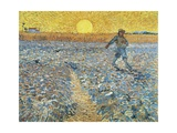 The Sower, 1888 Giclee Print by Vincent van Gogh